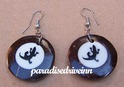 Coconut Earrings