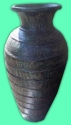 Terracotta Vase & Bottle