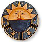 Bali Sun Ashtray