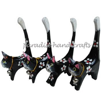 Bali Set of 4 Cats