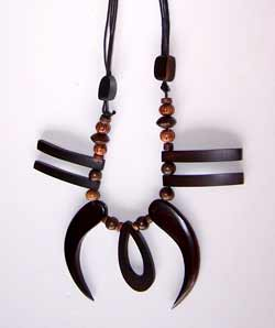 Bali Necklace sono wood