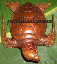 Bali One turtle - Suar wood