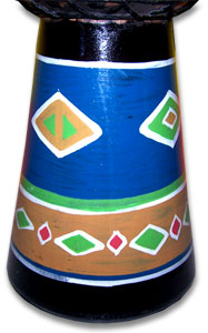 Bali Drum special alpine string, handpainted