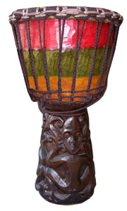 Bali Drum Alpine String and exellent Deep Woodcarving