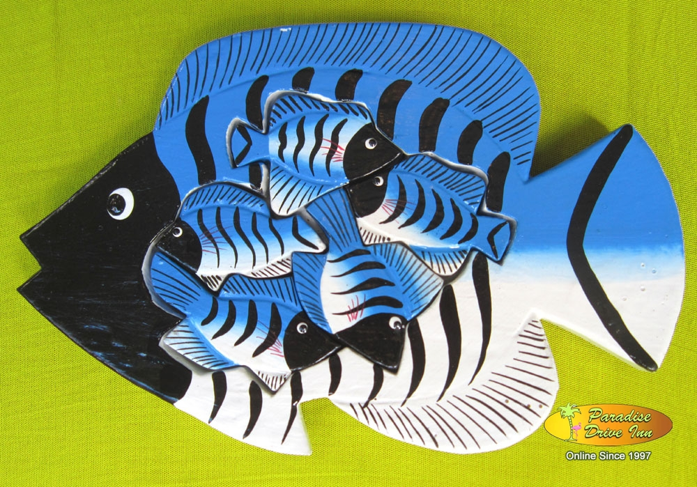 Bali Wooden puzzel, hand painting, albesia wood