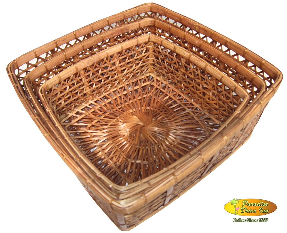 Bali Set of 3 baskets
