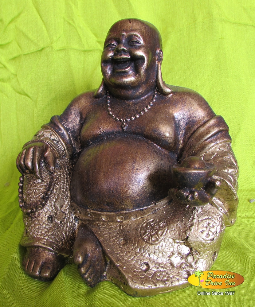 Bali Happy buddha, resin