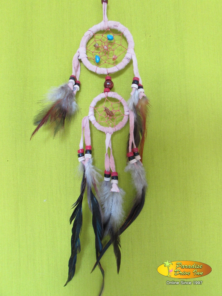 Bali Dreamcatcher, adidas with semiprecious stone,  beads