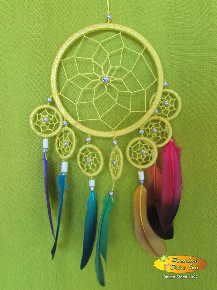 Bali Dreamcatcher, nylon string with beads