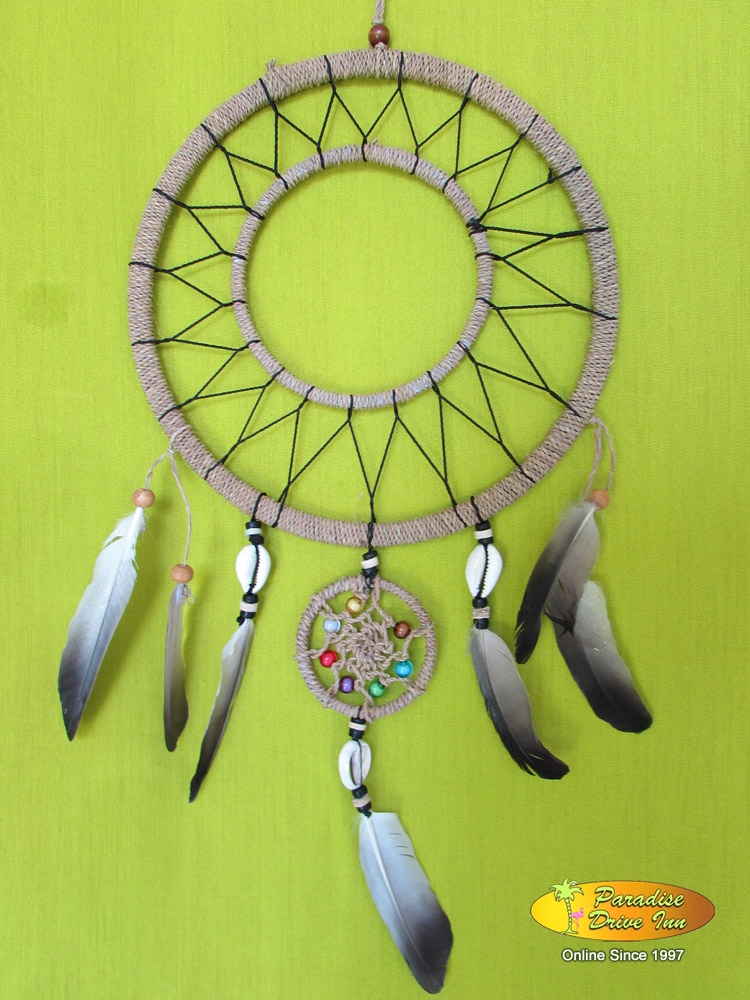 Bali Dreamcatcher, kobel with shell & beads