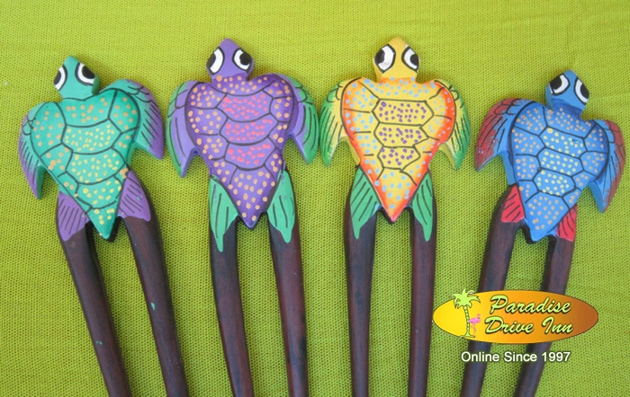 Bali Assortment of 50 turtle hairpins