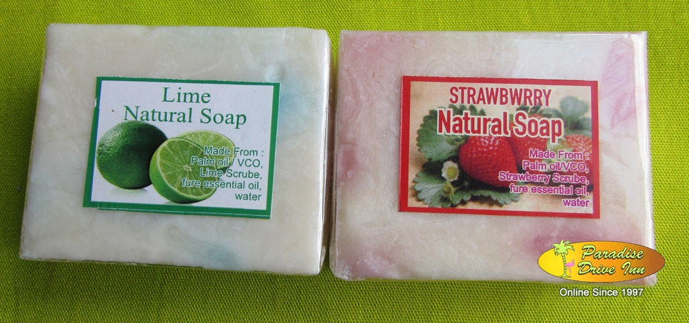 Bali Spa accesories, 2 soaps