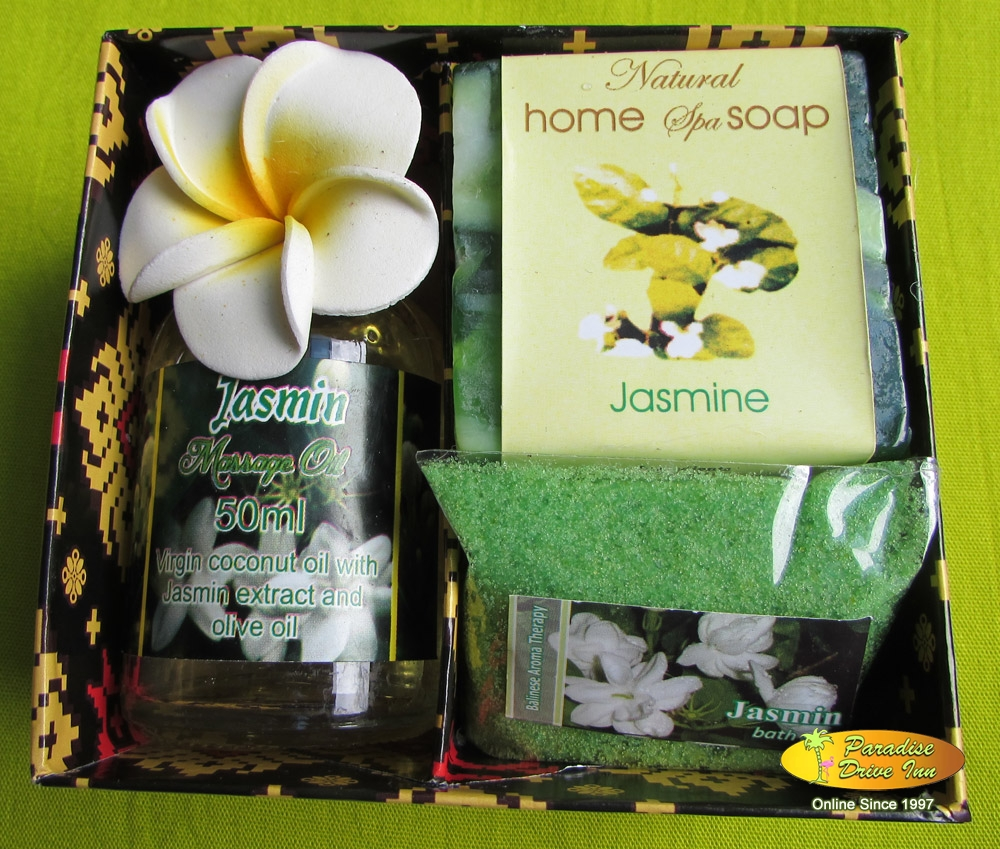 Bali Spa accesories, soap, massage oil