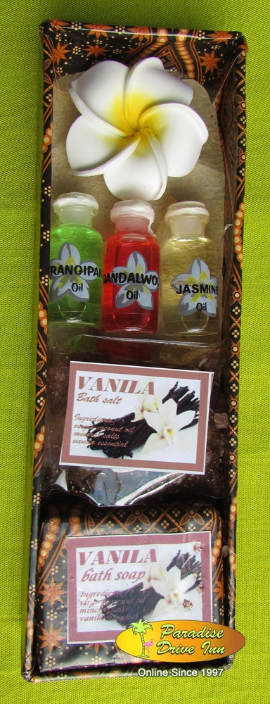 Bali Spa accesories, 2 soaps oil