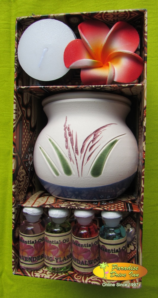 Bali Spa accesories, ceramic oil burner