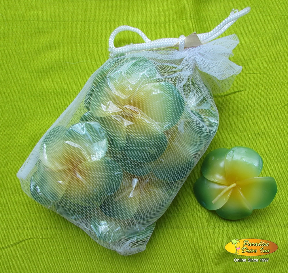 Bali Spa accesories, floating candle - 10 pcs in pack