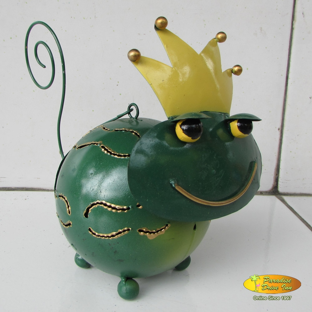 Bali Metal craft, frog