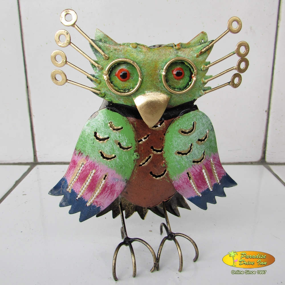 Bali Metal craft, owl