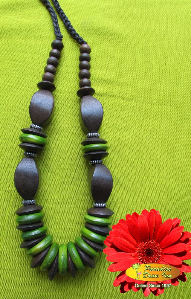 Bali Necklace, wono wood