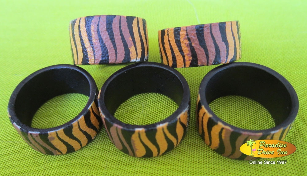 Bali Assortment of 100 Handpainted Rings