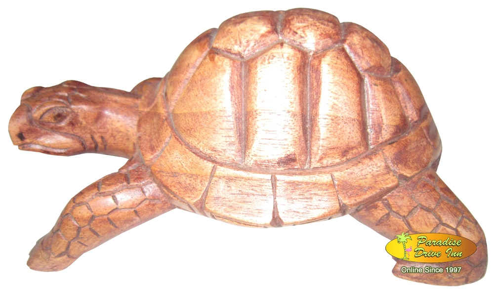 Bali Turtle woodcarving