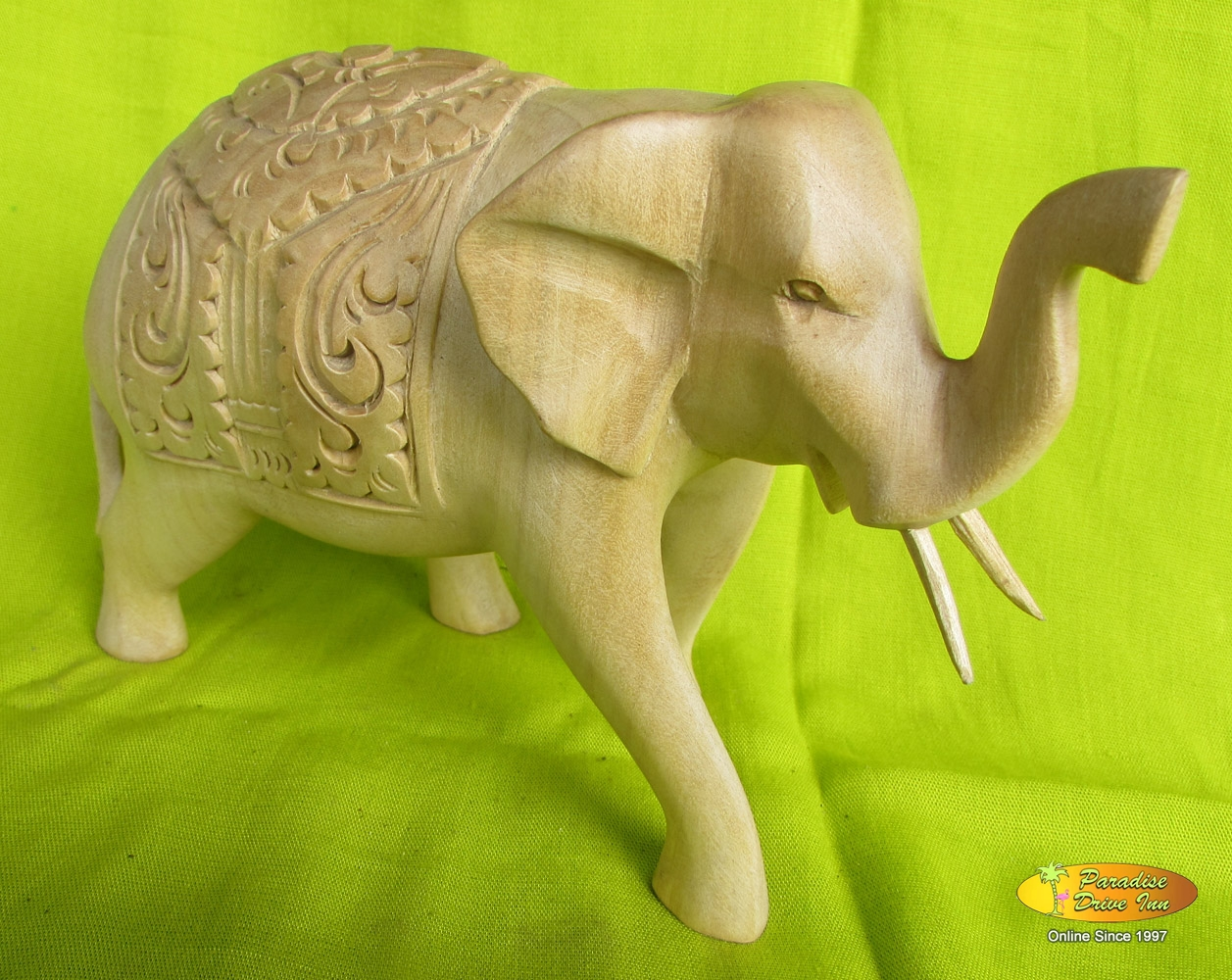 Bali Woodcarving, elephant, crocodile wood
