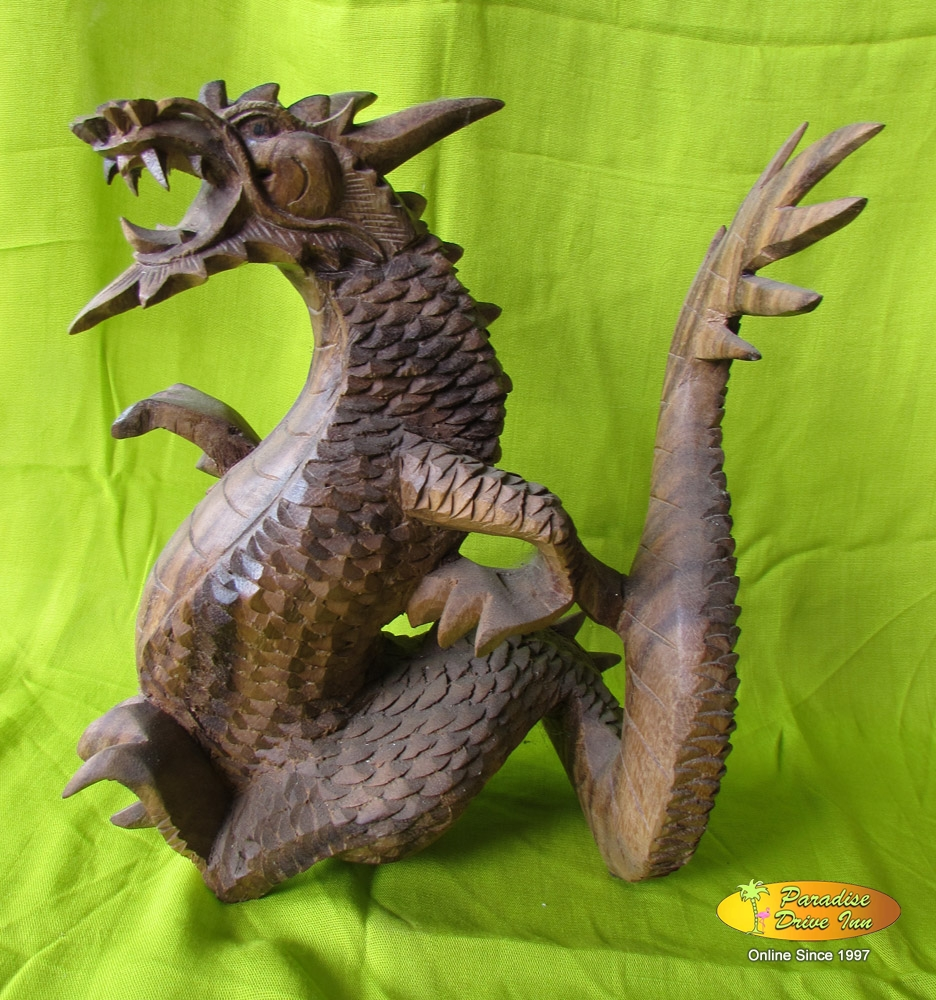 Bali Wood carving, dragon