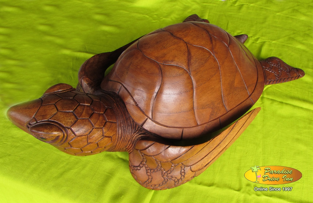 Bali Wood carving, turtle