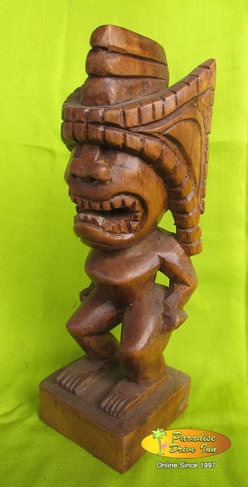 Bali Wood carving, tiki